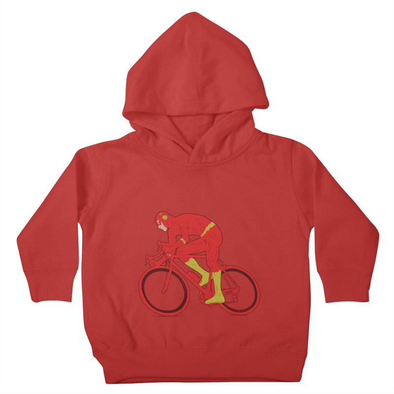 flash bike Kids Toddler Pullover Hoody by samalope's Artist Shop