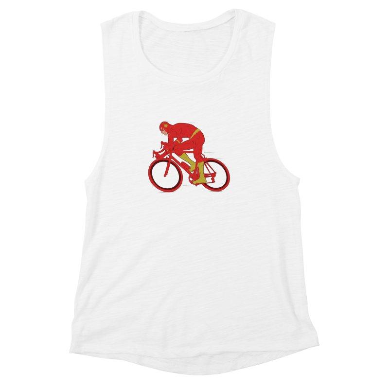 flash bike Women's Muscle Tank by samalope's Artist Shop