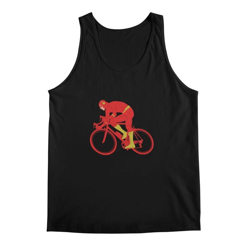 flash bike Men's Tank by samalope's Artist Shop