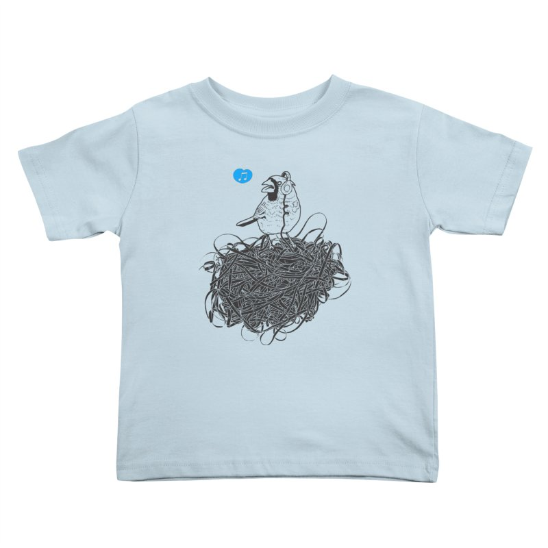 a song of harmony Kids Toddler T-Shirt by samalope's Artist Shop