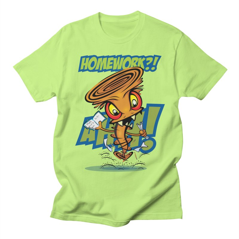 Homework Twister Men's Regular T-Shirt by Lou Simeone Art