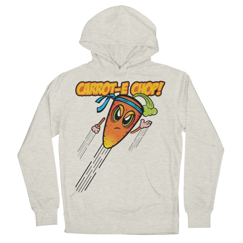 Carrot-e-CHOP! Women's Pullover Hoody by Samalou - The Art and Illustrations of Lou Simeone