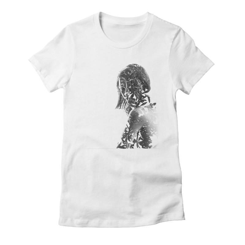 Exclusion II Women's Fitted T-Shirt by samanthafortenberry's Artist Shop