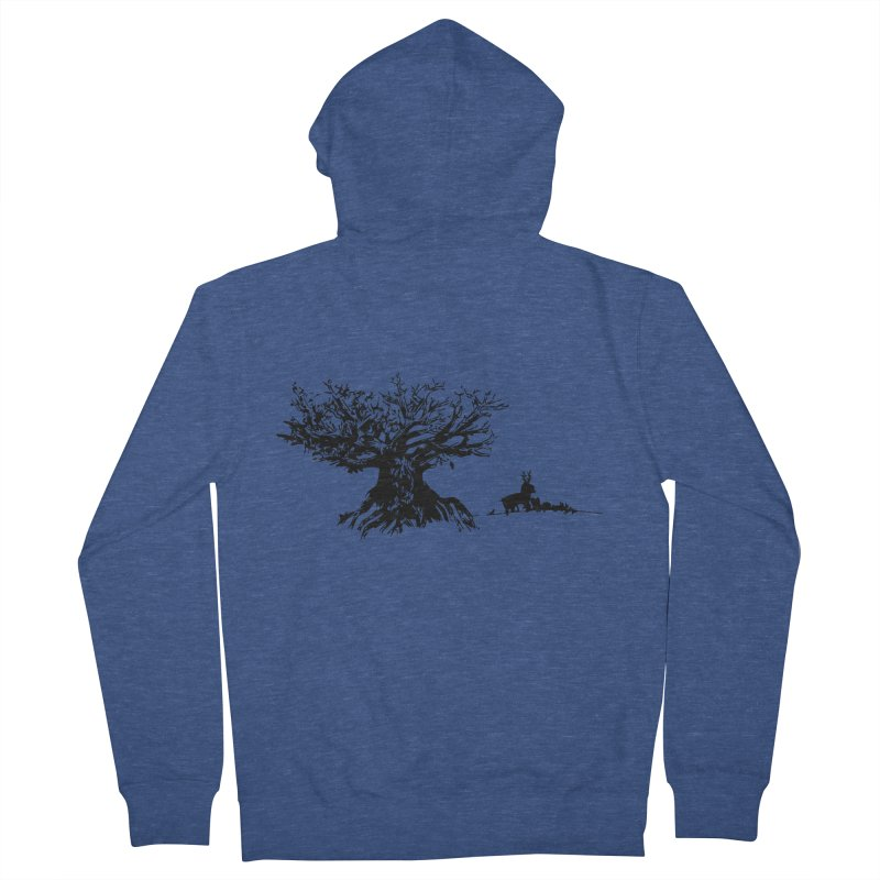 Out Of The Woods Men's Zip-Up Hoody by samanthalilley's Artist Shop