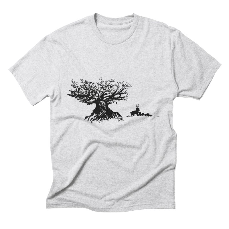 Out Of The Woods Men's Triblend T-shirt by samanthalilley's Artist Shop