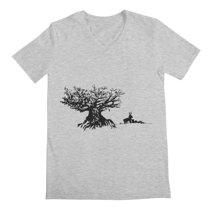 Out Of The Woods Men's V-Neck by samanthalilley's Artist Shop