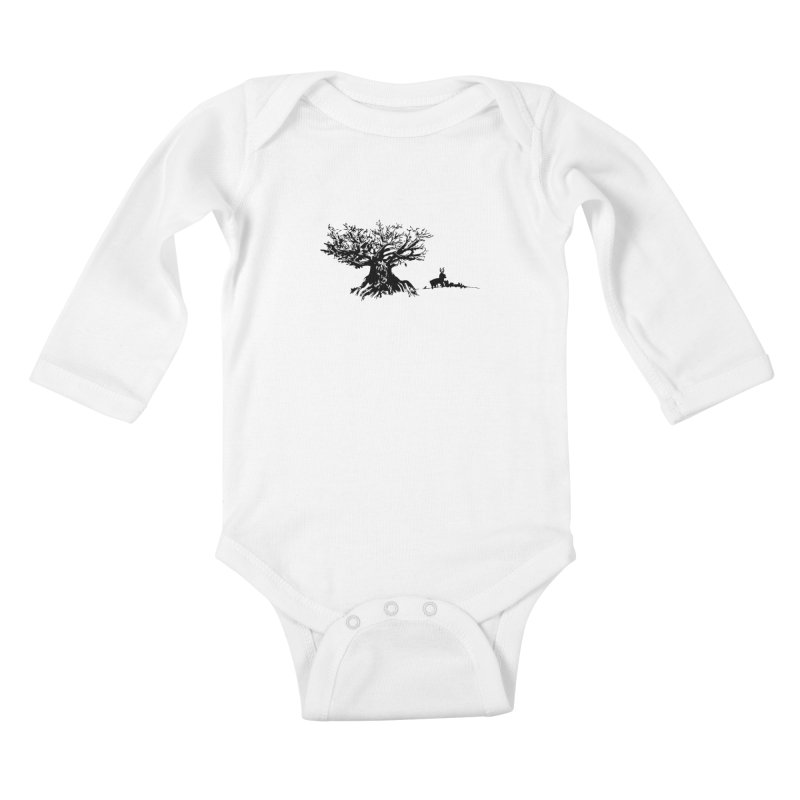 Out Of The Woods Kids Baby Longsleeve Bodysuit by samanthalilley's Artist Shop