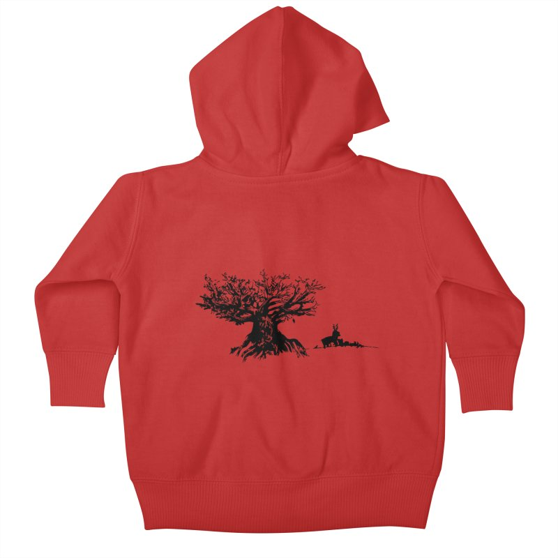 Out Of The Woods Kids Baby Zip-Up Hoody by samanthalilley's Artist Shop