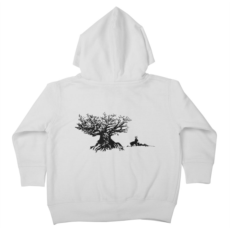 Out Of The Woods Kids Toddler Zip-Up Hoody by samanthalilley's Artist Shop