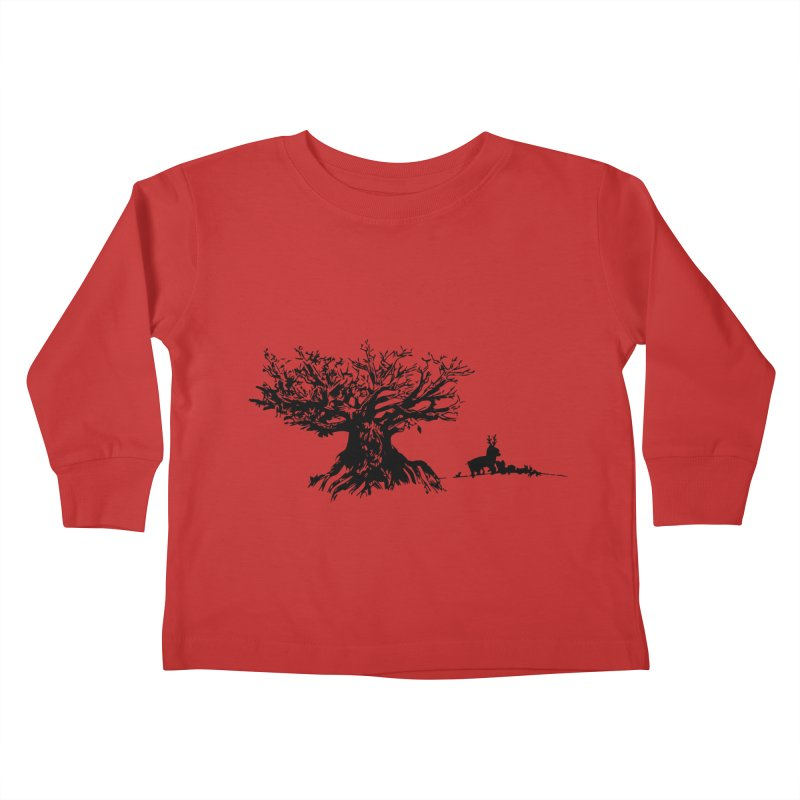 Out Of The Woods Kids Toddler Longsleeve T-Shirt by samanthalilley's Artist Shop