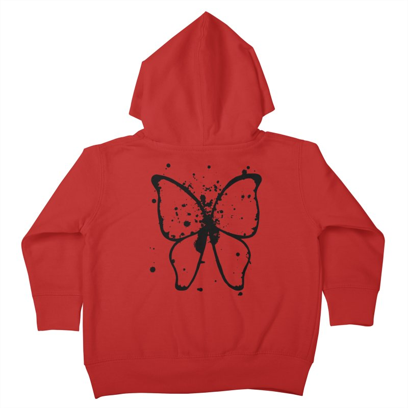Winging It Kids Toddler Zip-Up Hoody by samanthalilley's Artist Shop