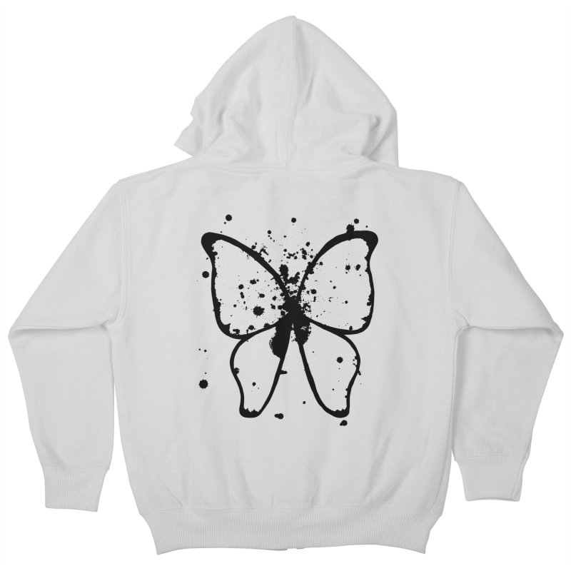Winging It Kids Zip-Up Hoody by samanthalilley's Artist Shop