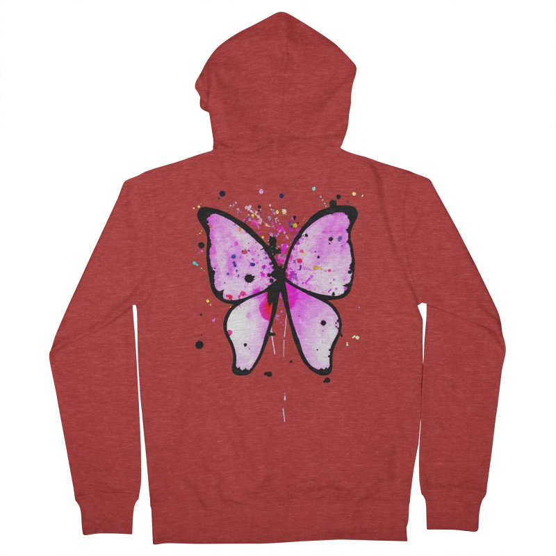 Fly Away Women's Zip-Up Hoody by samanthalilley's Artist Shop