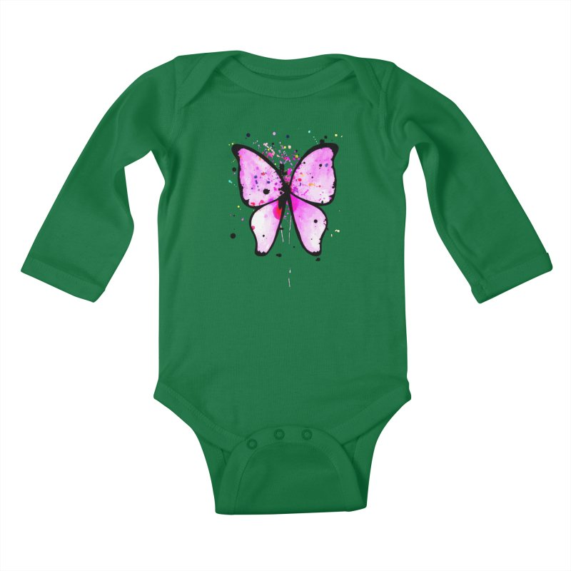 Fly Away Kids Baby Longsleeve Bodysuit by samanthalilley's Artist Shop