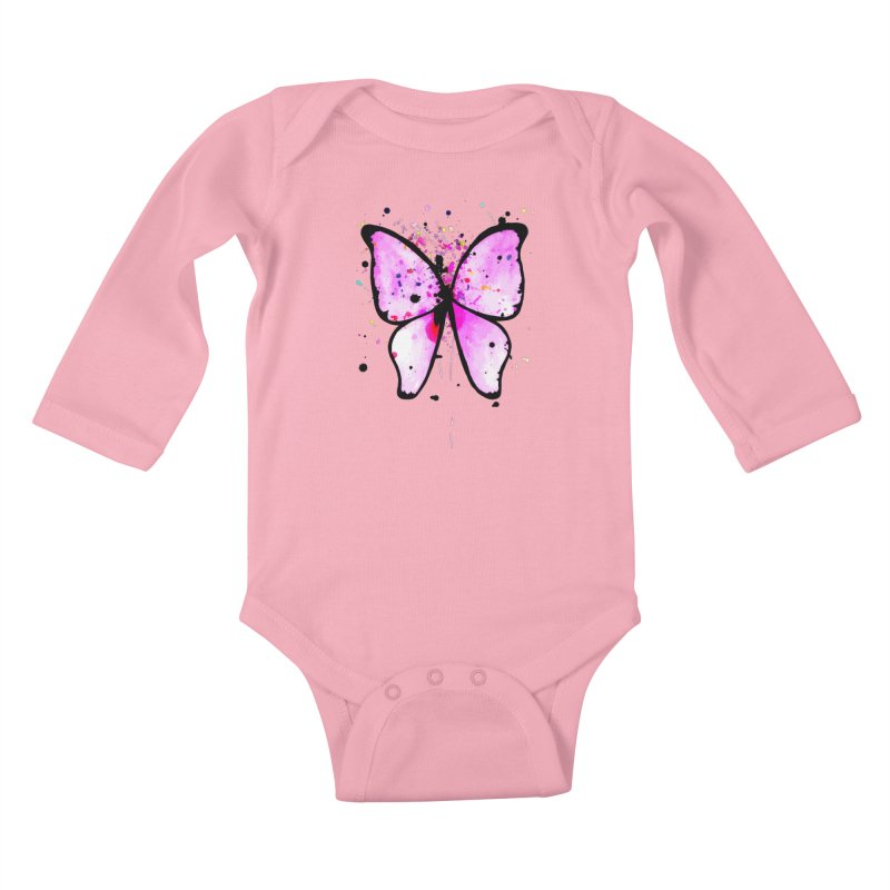 Fly Away Kids Baby Longsleeve Bodysuit by samanthalilley's Artist Shop