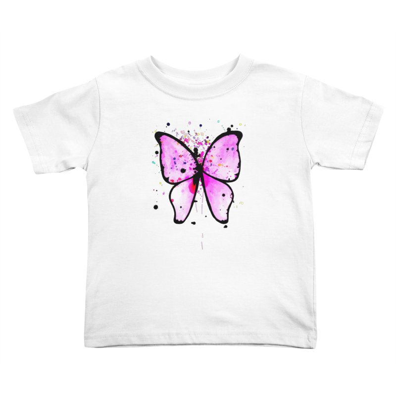 Fly Away Kids Toddler T-Shirt by samanthalilley's Artist Shop