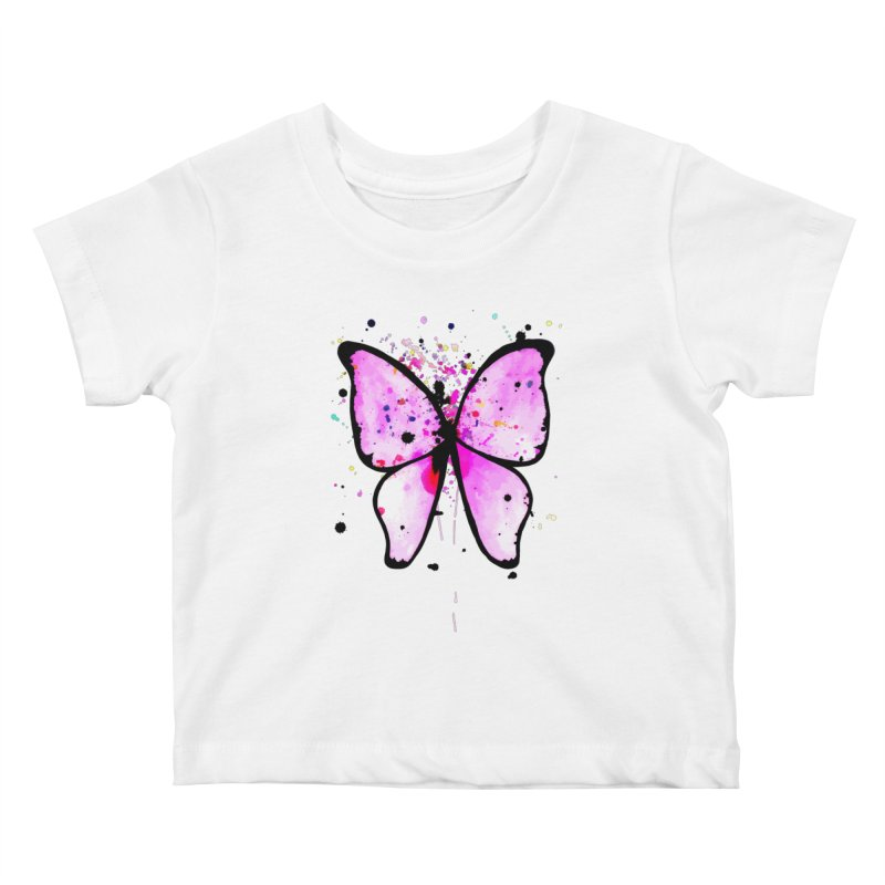 Fly Away Kids Baby T-Shirt by samanthalilley's Artist Shop