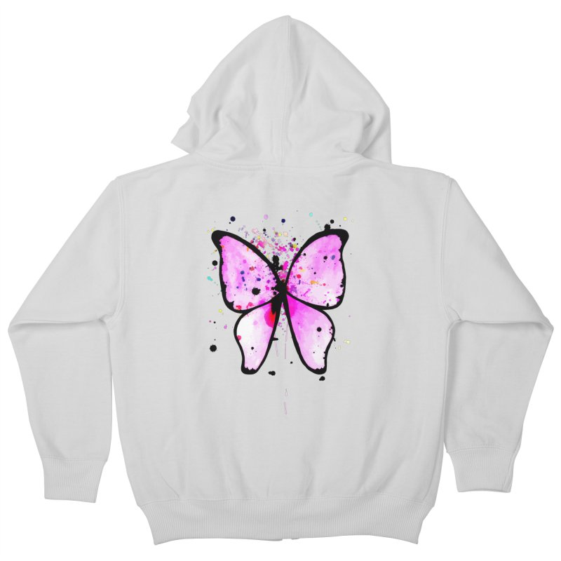 Fly Away Kids Zip-Up Hoody by samanthalilley's Artist Shop
