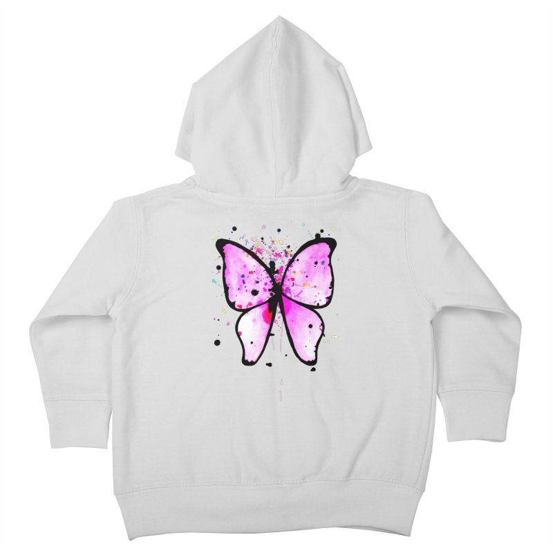 Fly Away Kids Toddler Zip-Up Hoody by samanthalilley's Artist Shop