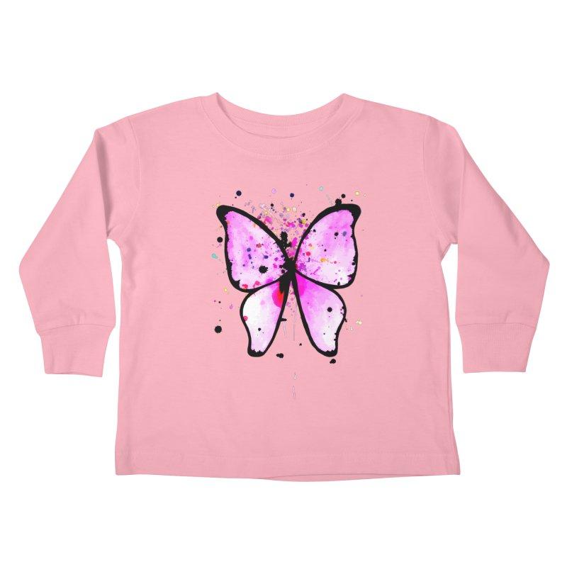 Fly Away Kids Toddler Longsleeve T-Shirt by samanthalilley's Artist Shop