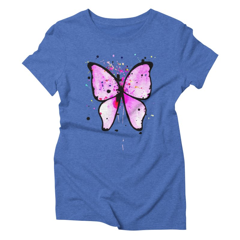 Fly Away Women's Triblend T-shirt by samanthalilley's Artist Shop