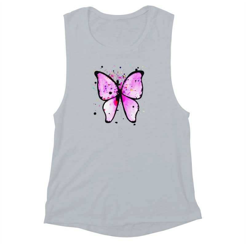 Fly Away Women's Muscle Tank by samanthalilley's Artist Shop