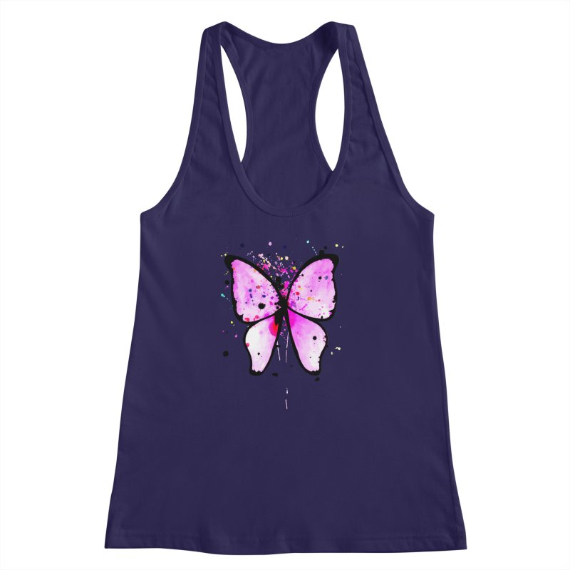 Fly Away Women's Racerback Tank by samanthalilley's Artist Shop