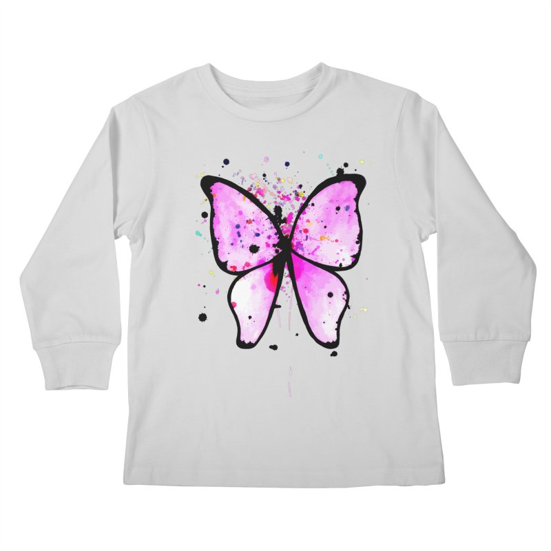 Fly Away Kids Longsleeve T-Shirt by samanthalilley's Artist Shop