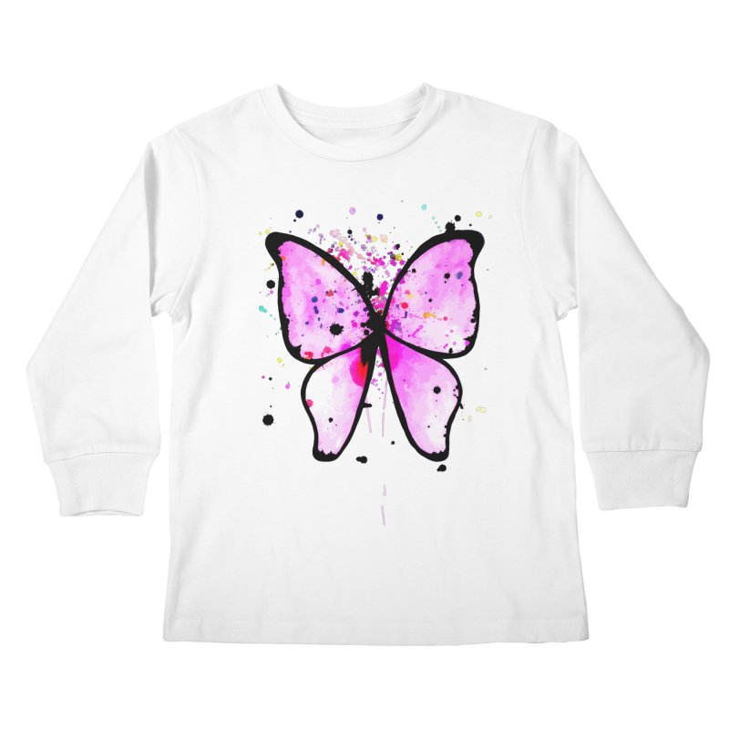 Fly Away Kids Longsleeve T-Shirt by samanthalilley's Artist Shop