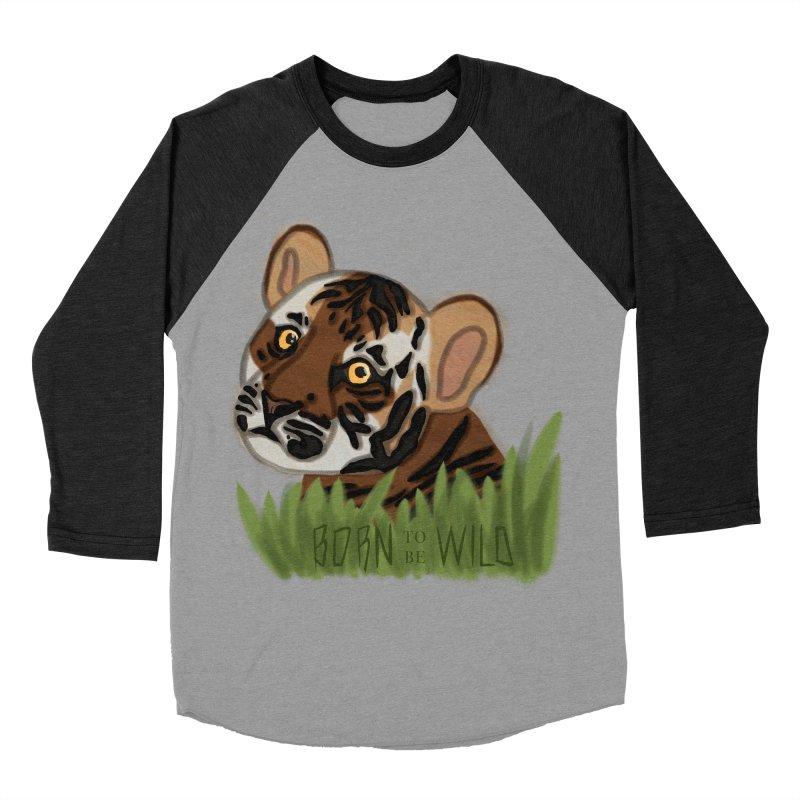 Born To Be Wild Women's Baseball Triblend T-Shirt by samanthalilley's Artist Shop