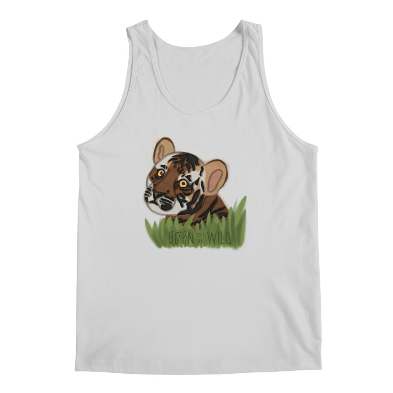 Born To Be Wild Men's Tank by samanthalilley's Artist Shop