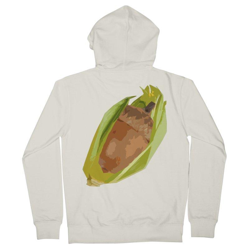 A-CORN? Men's Zip-Up Hoody by samanthalilley's Artist Shop