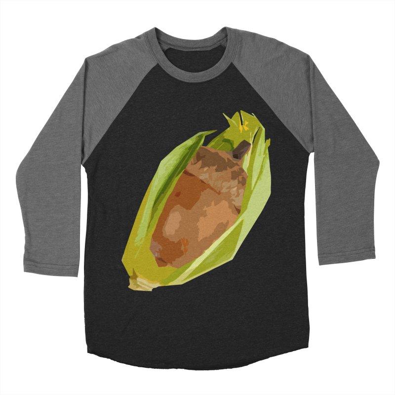 A-CORN? Women's Baseball Triblend T-Shirt by samanthalilley's Artist Shop