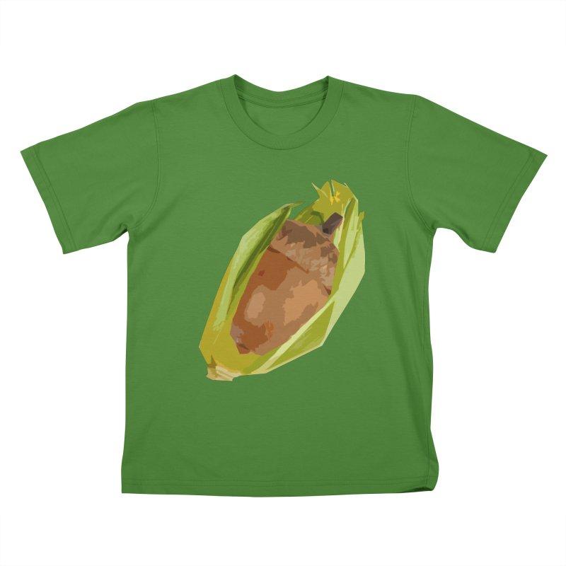 A-CORN? Kids T-shirt by samanthalilley's Artist Shop