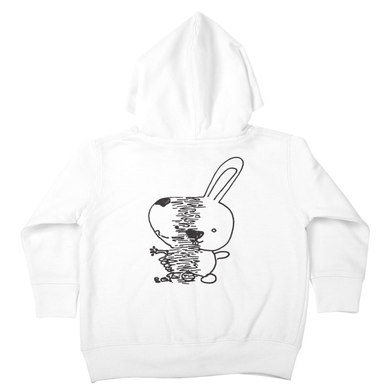 RIPped Kids Toddler Zip-Up Hoody by samanthalilley's Artist Shop