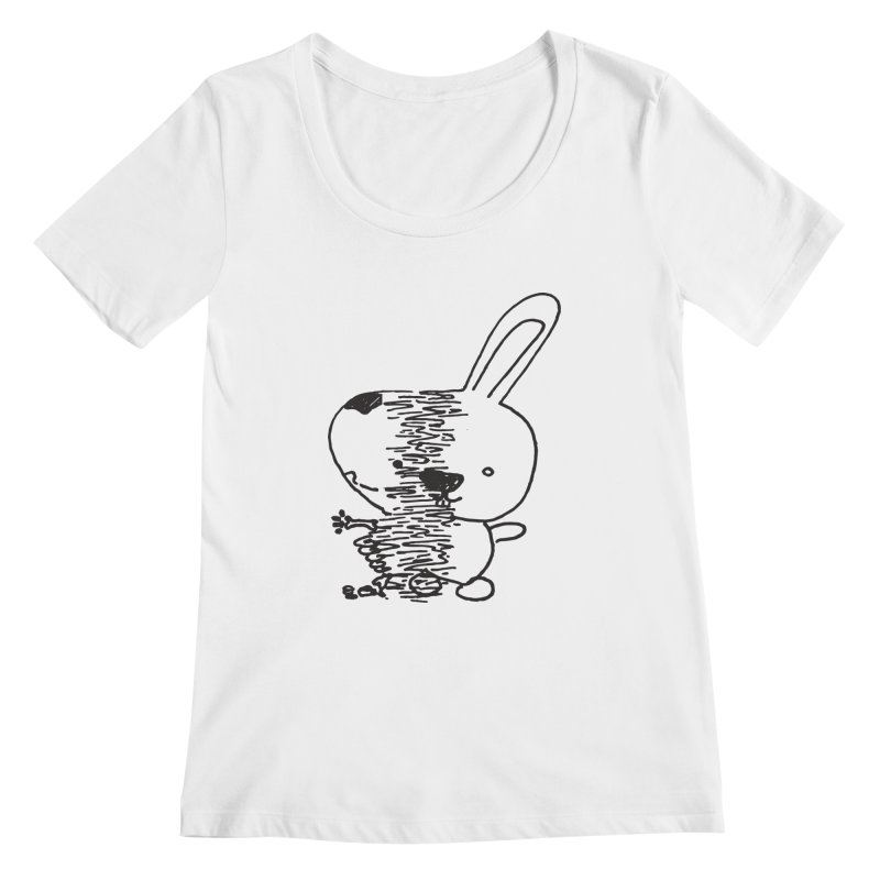 RIPped Women's Scoopneck by samanthalilley's Artist Shop