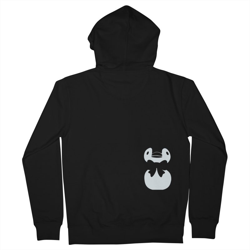 Little Penguin Men's Zip-Up Hoody by samanthalilley's Artist Shop