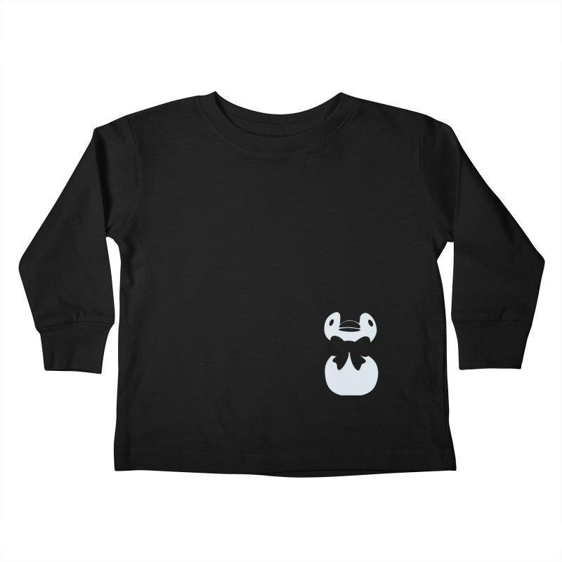 Little Penguin Kids Toddler Longsleeve T-Shirt by samanthalilley's Artist Shop