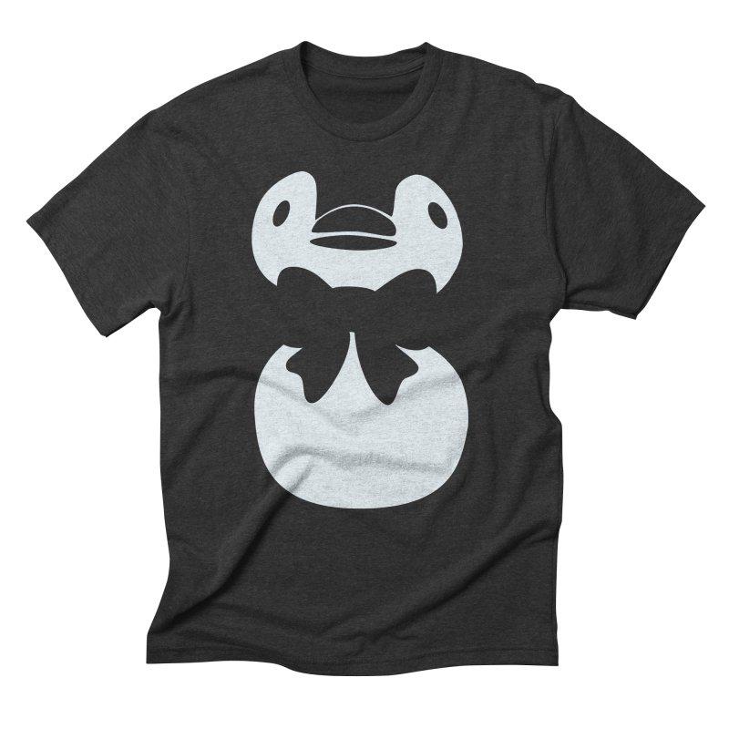 Big Penguin Men's Triblend T-Shirt by samanthalilley's Artist Shop