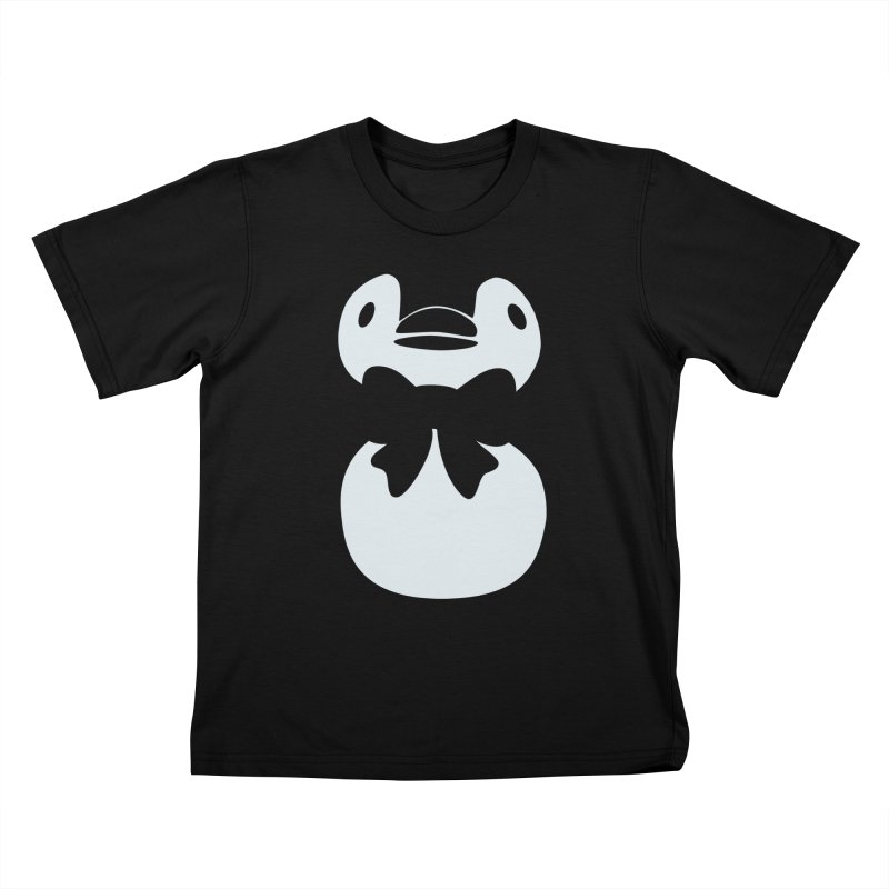 Big Penguin Kids T-shirt by samanthalilley's Artist Shop