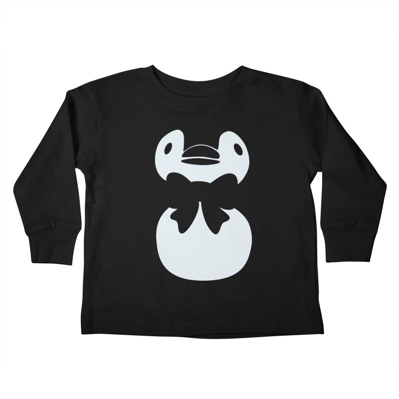 Big Penguin Kids Toddler Longsleeve T-Shirt by samanthalilley's Artist Shop