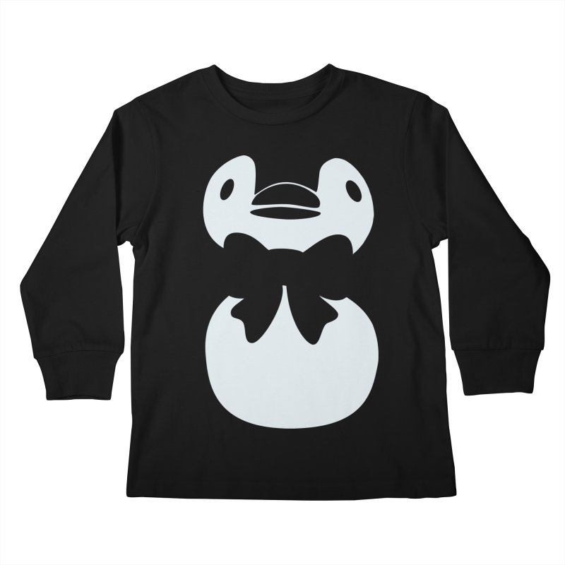 Big Penguin Kids Longsleeve T-Shirt by samanthalilley's Artist Shop