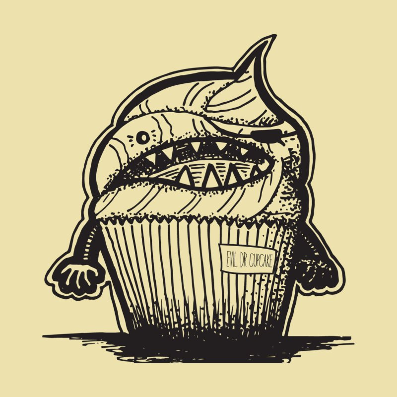 Evil Dr Cupcake None  by samanthalilley's Artist Shop