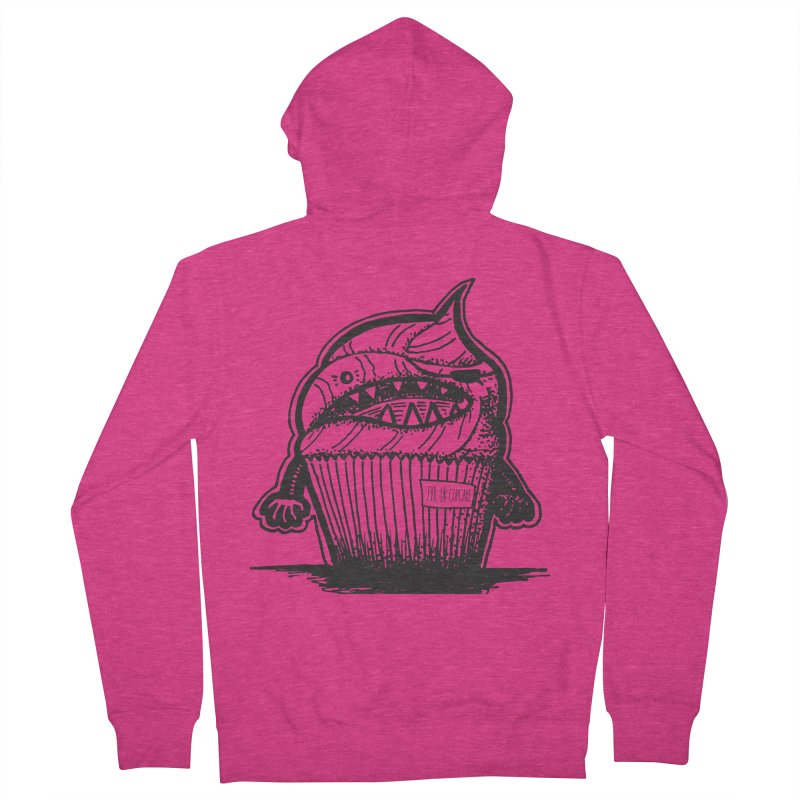 Evil Dr Cupcake Women's Zip-Up Hoody by samanthalilley's Artist Shop