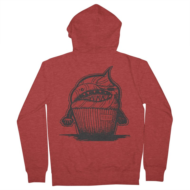 Evil Dr Cupcake Men's Zip-Up Hoody by samanthalilley's Artist Shop
