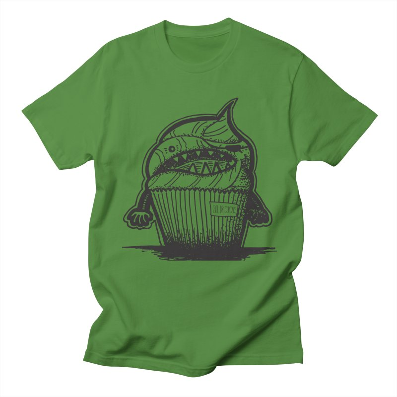 Evil Dr Cupcake Men's T-shirt by samanthalilley's Artist Shop