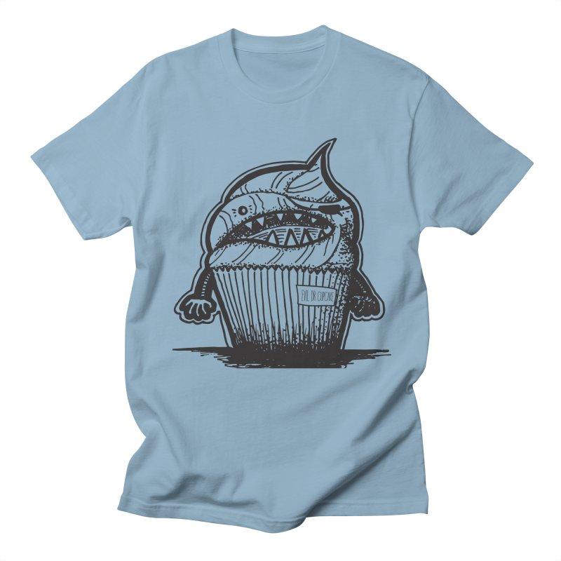 Evil Dr Cupcake Men's T-shirt by samanthalilley's Artist Shop