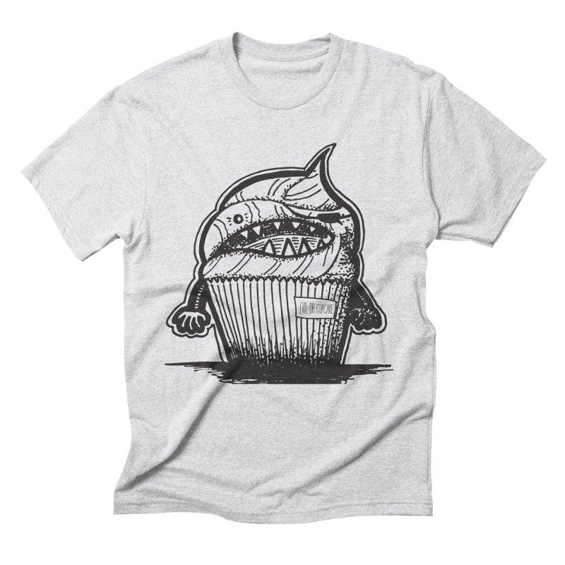 Evil Dr Cupcake Men's Triblend T-shirt by samanthalilley's Artist Shop
