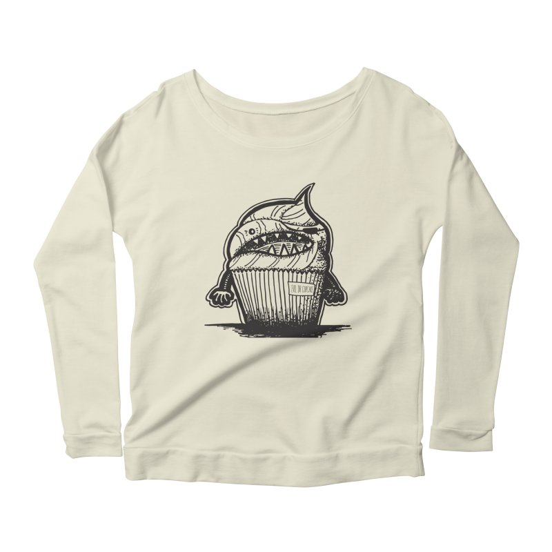 Evil Dr Cupcake Women's Longsleeve Scoopneck  by samanthalilley's Artist Shop