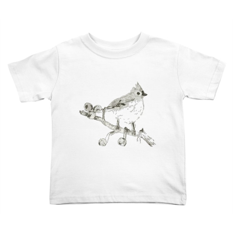 Perched Kids Toddler T-Shirt by samanthalilley's Artist Shop